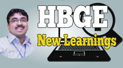 hbge new learnings